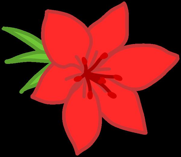 Jungle flower tropical clip. Plants clipart rainforest
