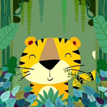 Free download for commercial. Jungle clipart vector art