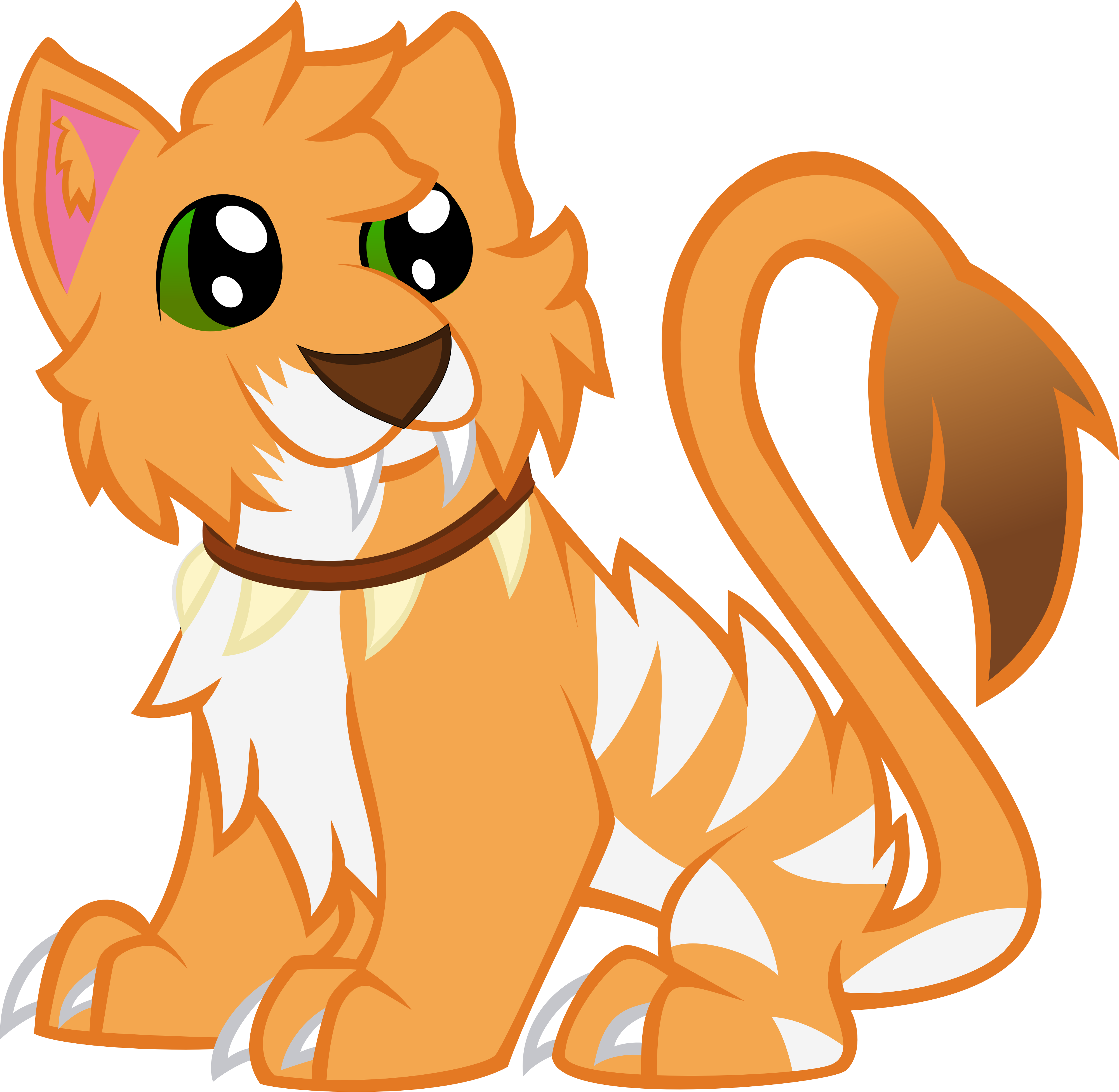 Kitty nidalee by blackcraft. Jungle clipart vector art