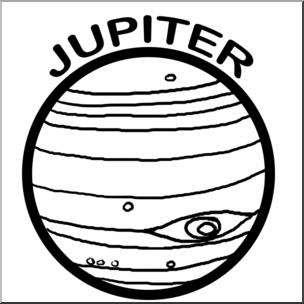 Clip art planets b. Jupiter clipart