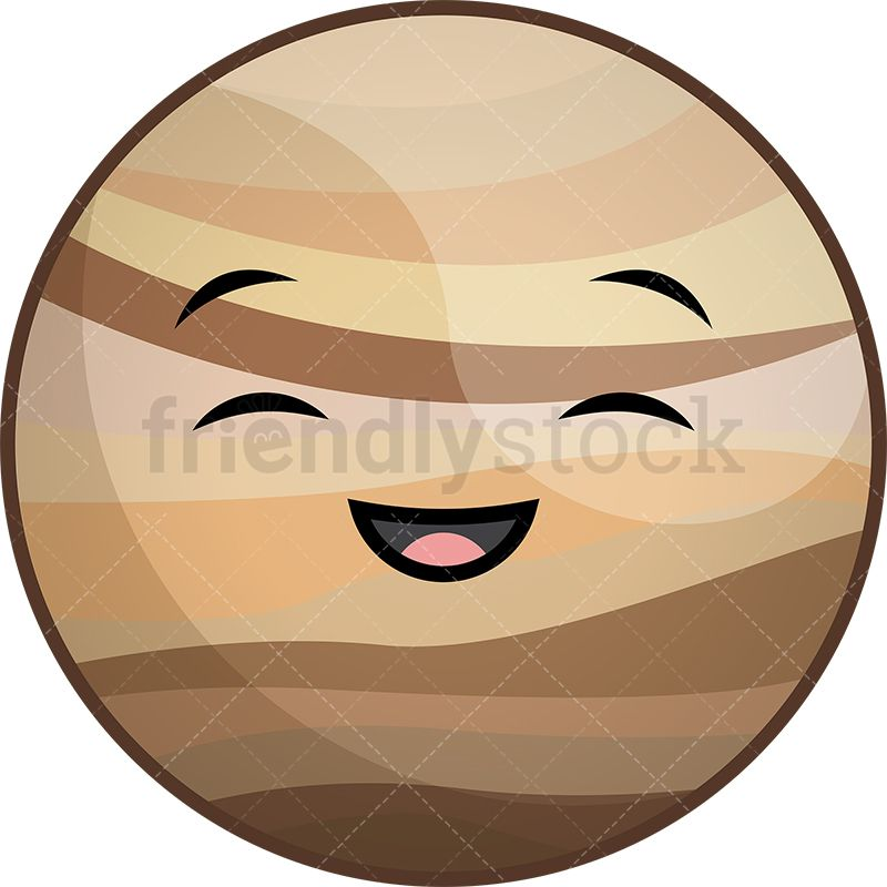 Planeten clipart face. Kawaii planet venus quilting