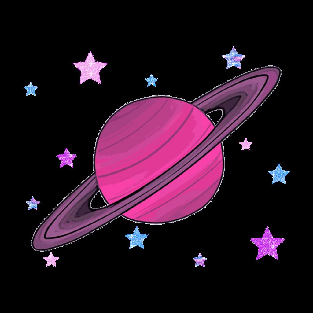 Saturn mars jupiter gezegenler. Planet clipart transparent tumblr