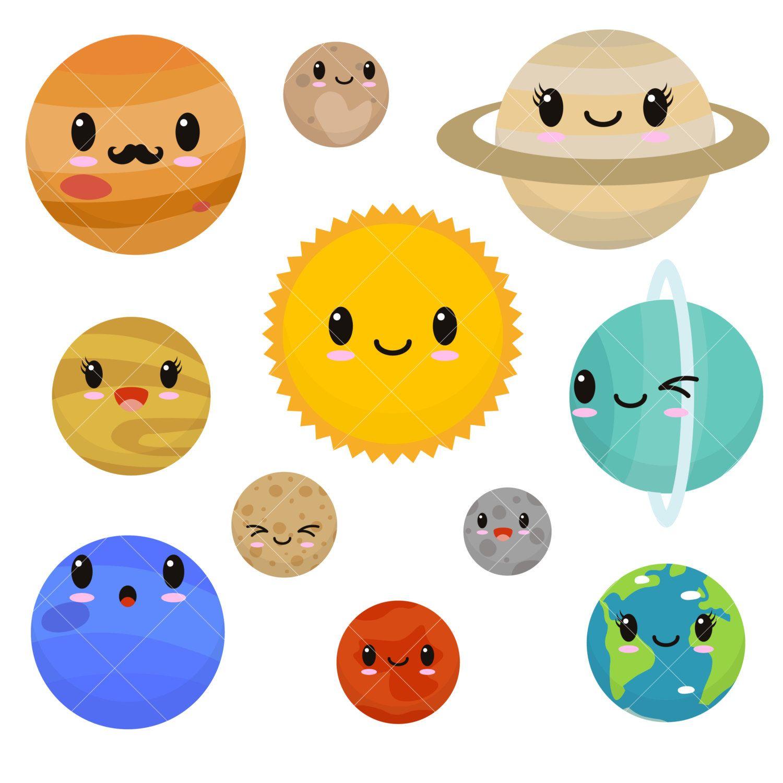 Planeten clipart adorable.  a ff bebfef