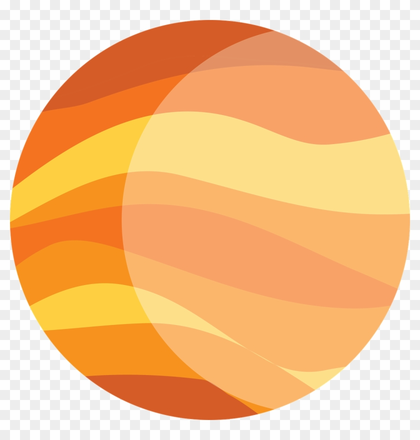 Jupiter the clip art. Planet clipart orange planet