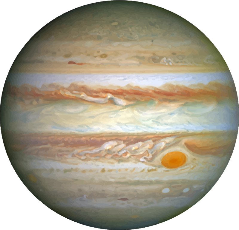 Jupiter clip art realistic. Planets clipart royalty free