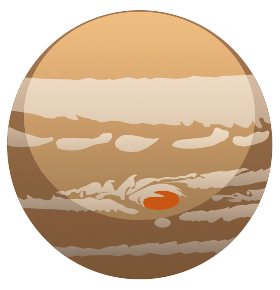 collection of drawing. Planet clipart jupiter