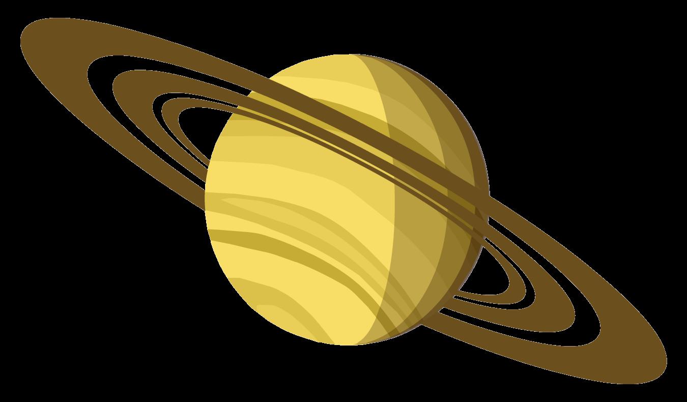 Planet clipart solar system. Saturn jupiter clip art