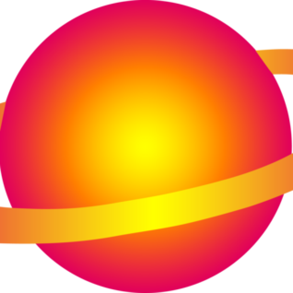 planeten clipart orange planet