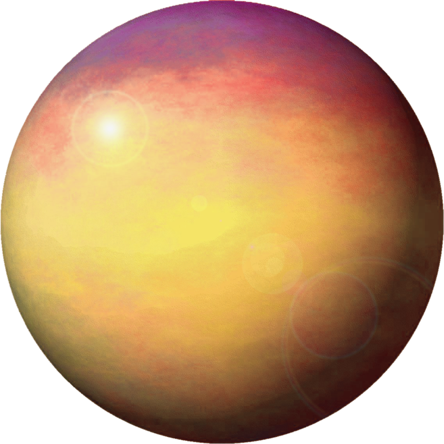 Images of venus png. Planeten clipart ringed planet