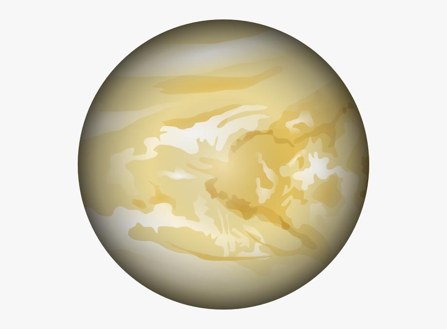 Cartoon transparent . Planets clipart venus planet