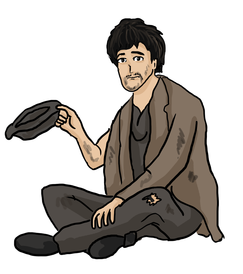 Poverty clipart panhandler. Begging computer icons clip
