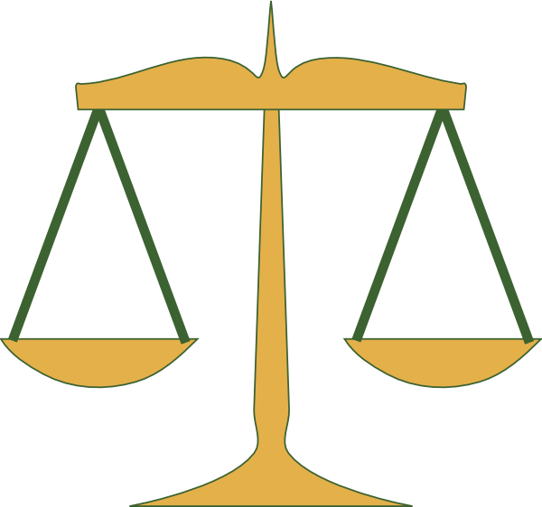Scales of clip art. Justice clipart
