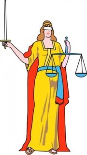Free lady blind and. Justice clipart