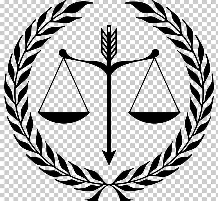 Measuring scales criminal logo. Justice clipart black and white
