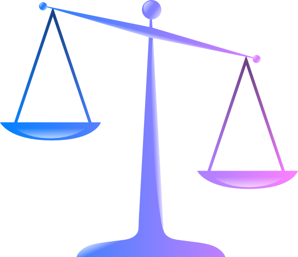 Weight clipart justicia. Scales of justice clip