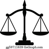 Scales royalty free gograph. Justice clipart clip art