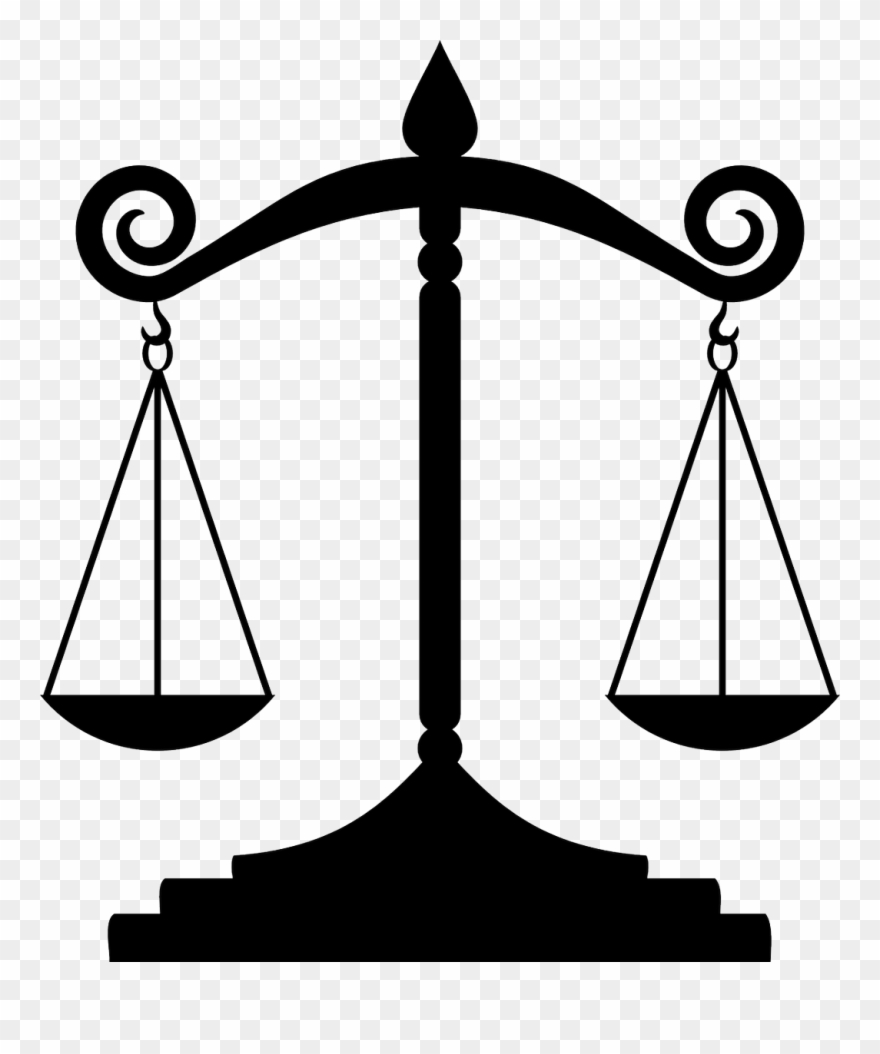 Justice clipart constitutional law. Measuring scales amendment
