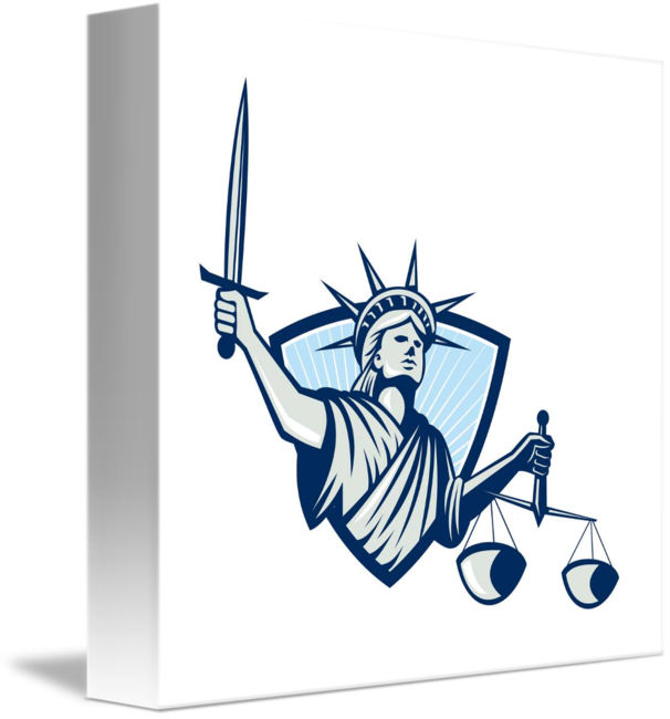 Of liberty holding scales. Justice clipart justice statue