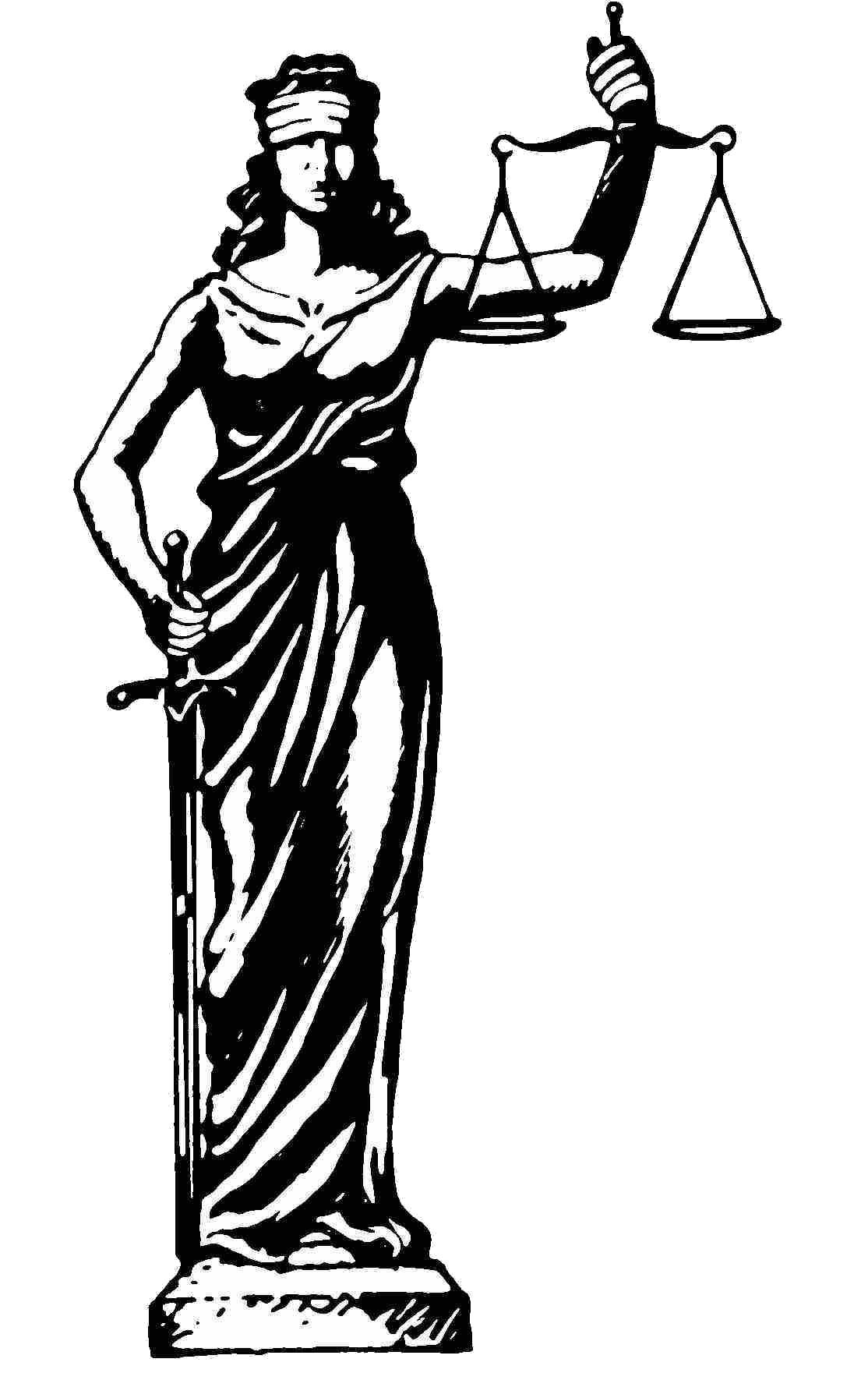 Justice clipart justice statue.  rainbow commercial vehicle