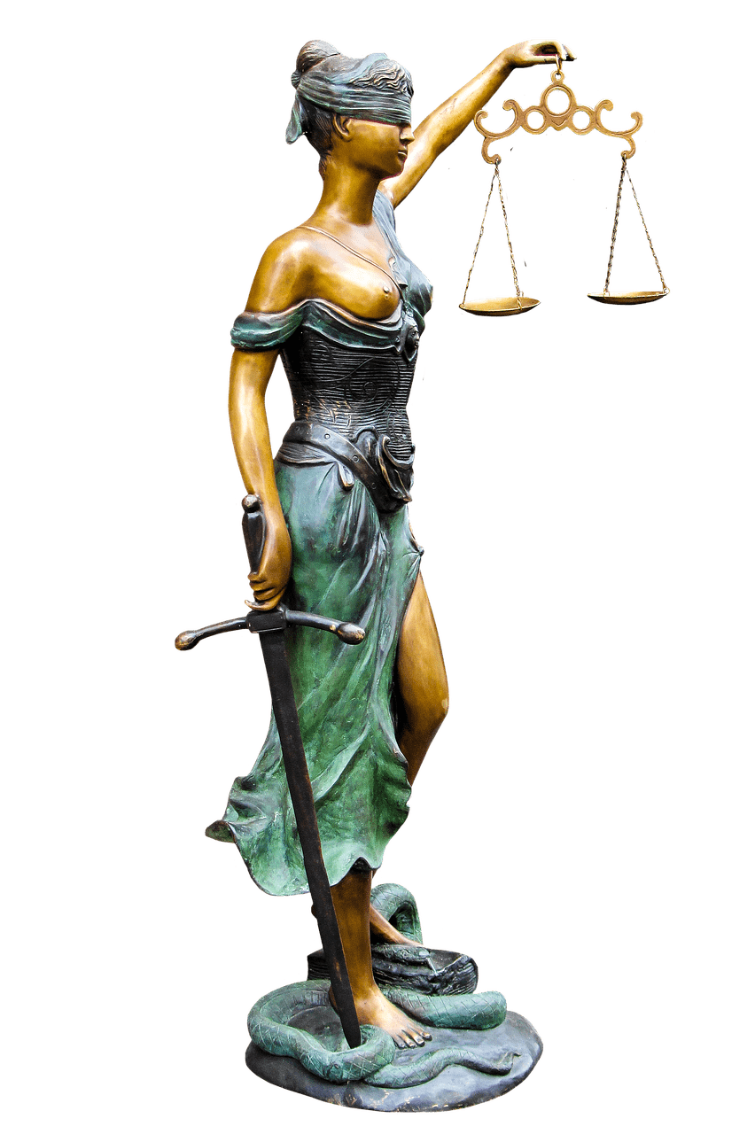 Lady of transparent png. Justice clipart justice statue