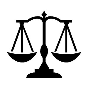 Legal aid society helps. Lawyer clipart scale
