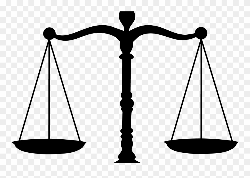 Of the peace scale. Justice clipart mock trial