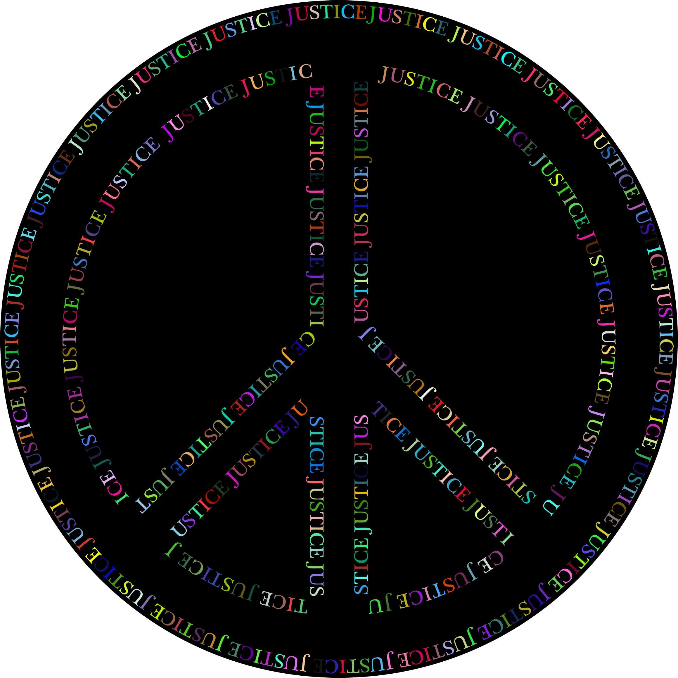 Justice clipart peace. Prismatic symbol icons png