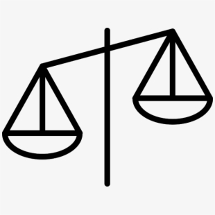 Libra balanced scale of. Justice clipart truth