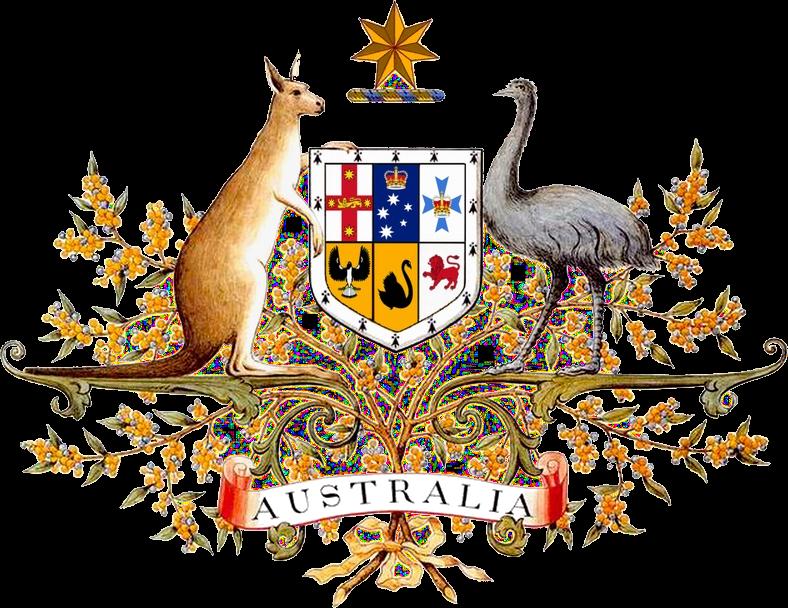 Coat of arms australia. Kangaroo clipart aboriginal kangaroo