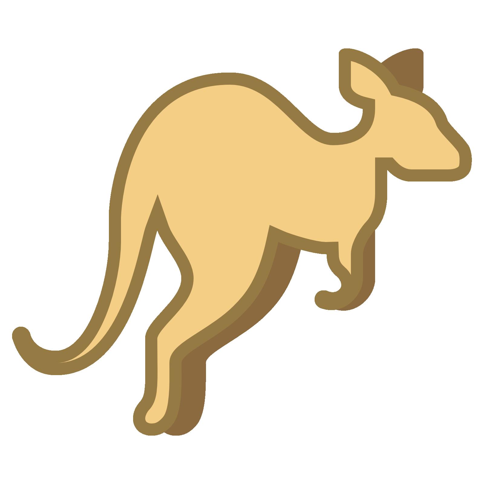Kangaroo clipart cartoon. Png transparent quality images