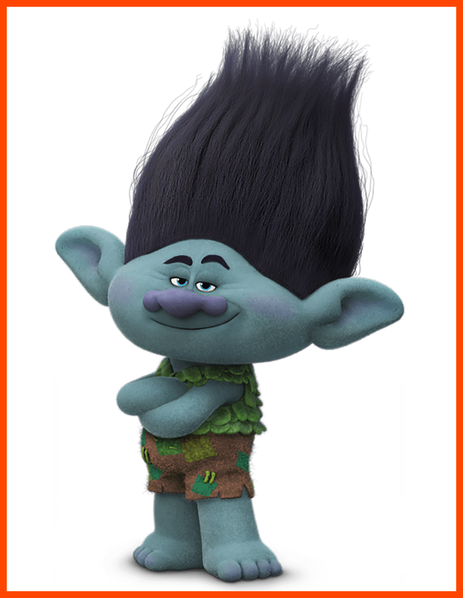 Best trolls branch transparent. Kangaroo clipart clothes