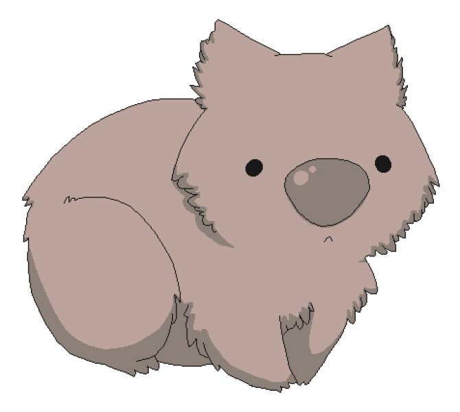 A bit different pinterest. Koala clipart wombat