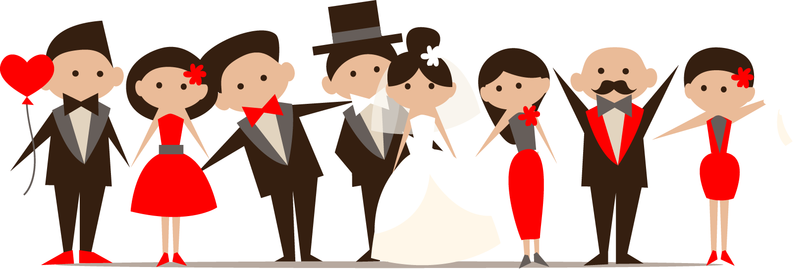 Png transparent free images. Person clipart wedding
