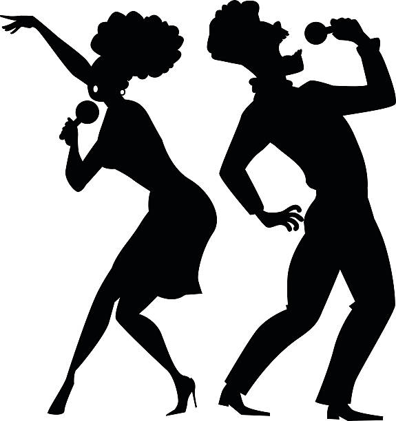 collection of black. Karaoke clipart
