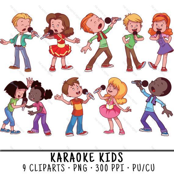 Kids party png . Karaoke clipart clip art