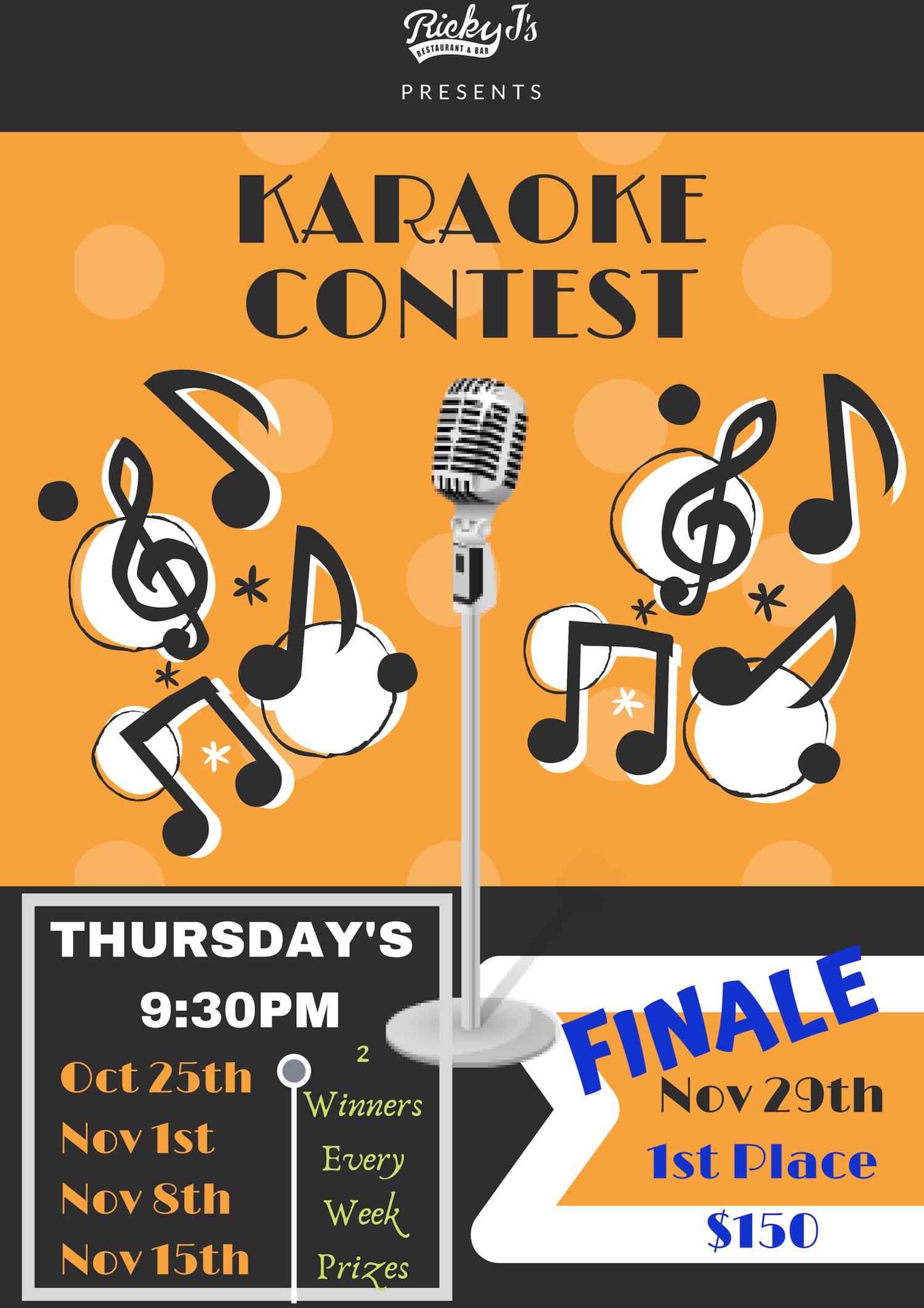Karaoke clipart karaoke contest, Karaoke karaoke contest ...