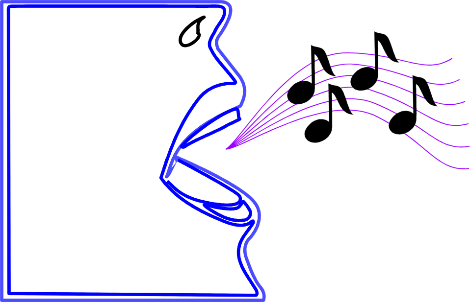 Microphone clipart music note. Singing free stock photo