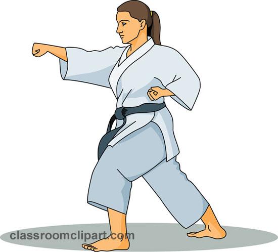 Karate clipart. Break kid clipartix