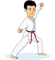 Sports free to download. Karate clipart