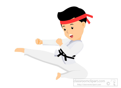 Karate clipart. Sports free to download