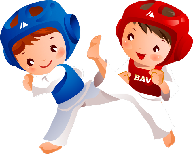 Karate clipart animated.  png kids sports