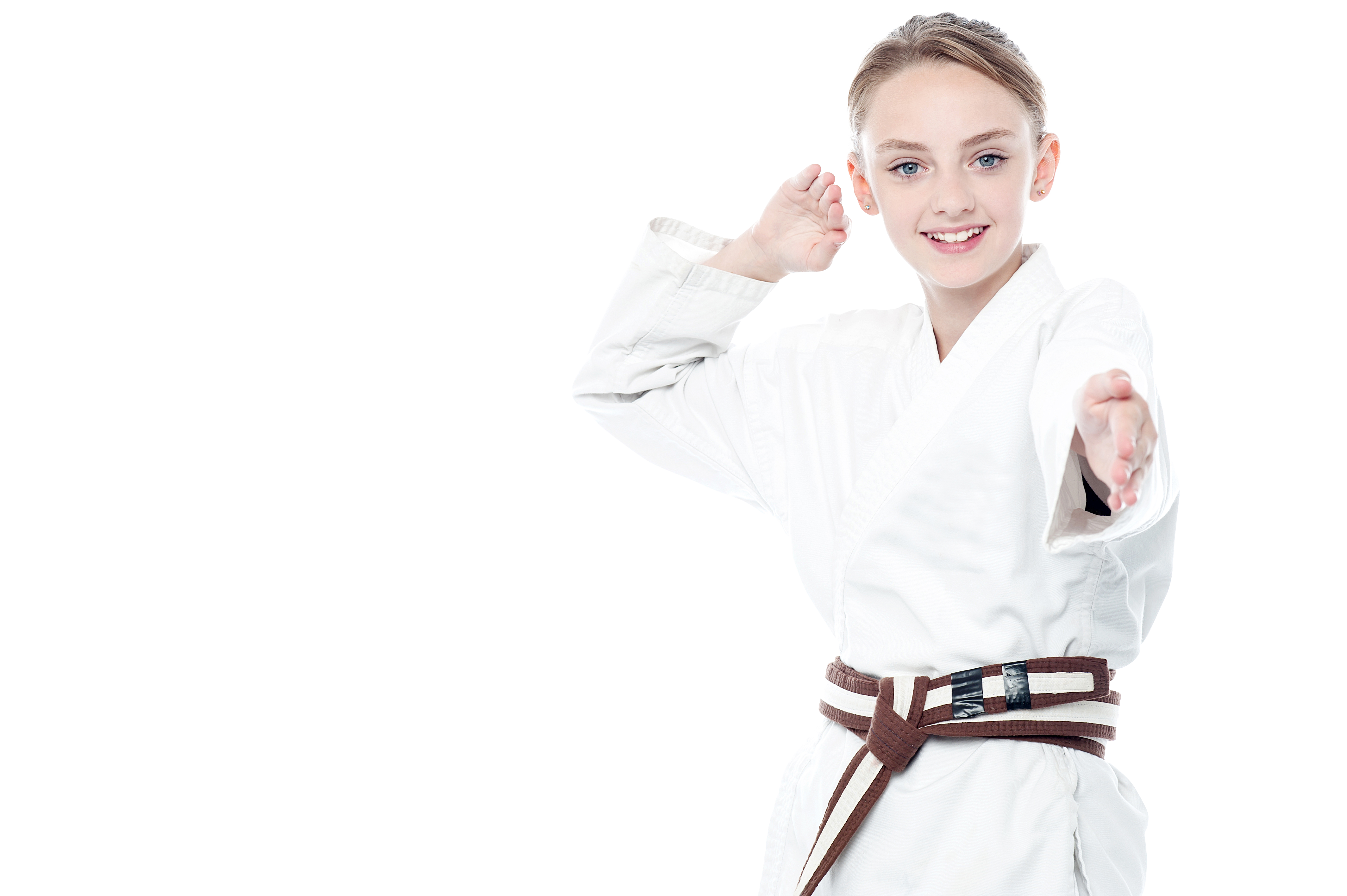 Girl png image purepng. Karate clipart individual sport