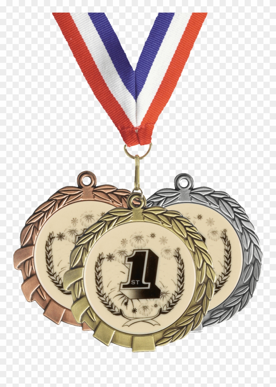 rd place gold. Karate clipart medal