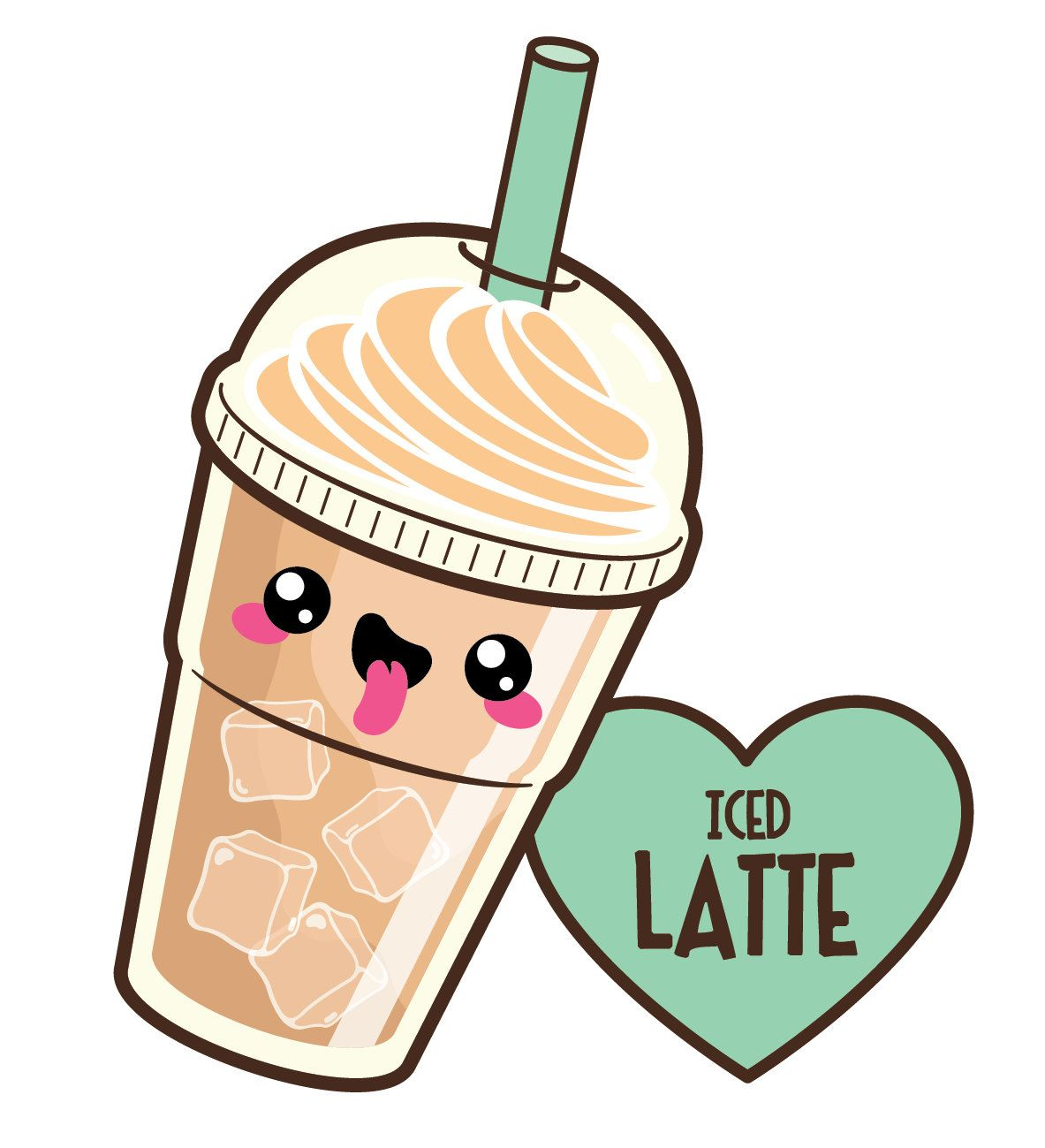 Anime clipart kawaii. Coffee cute off by