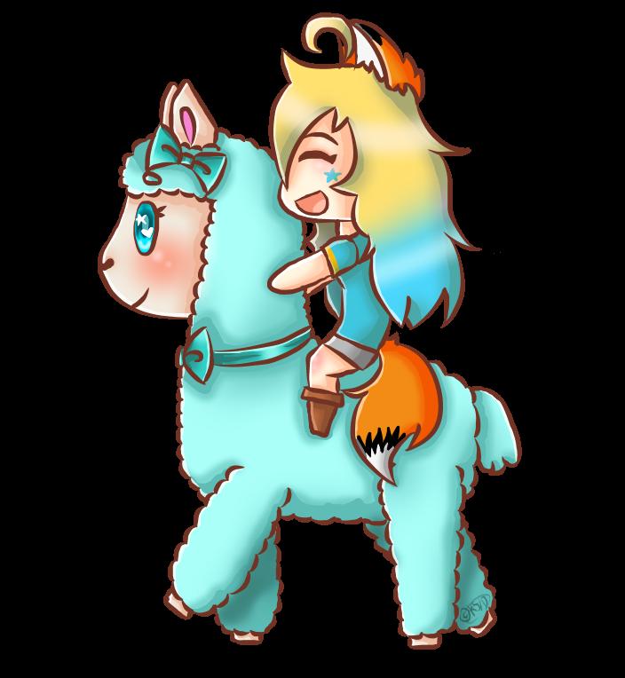 Happy starlett transparent owo. Kawaii clipart alpaca