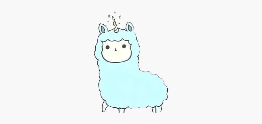 Kawaii clipart alpaca. Llama alpacas alpacasandllamas blue