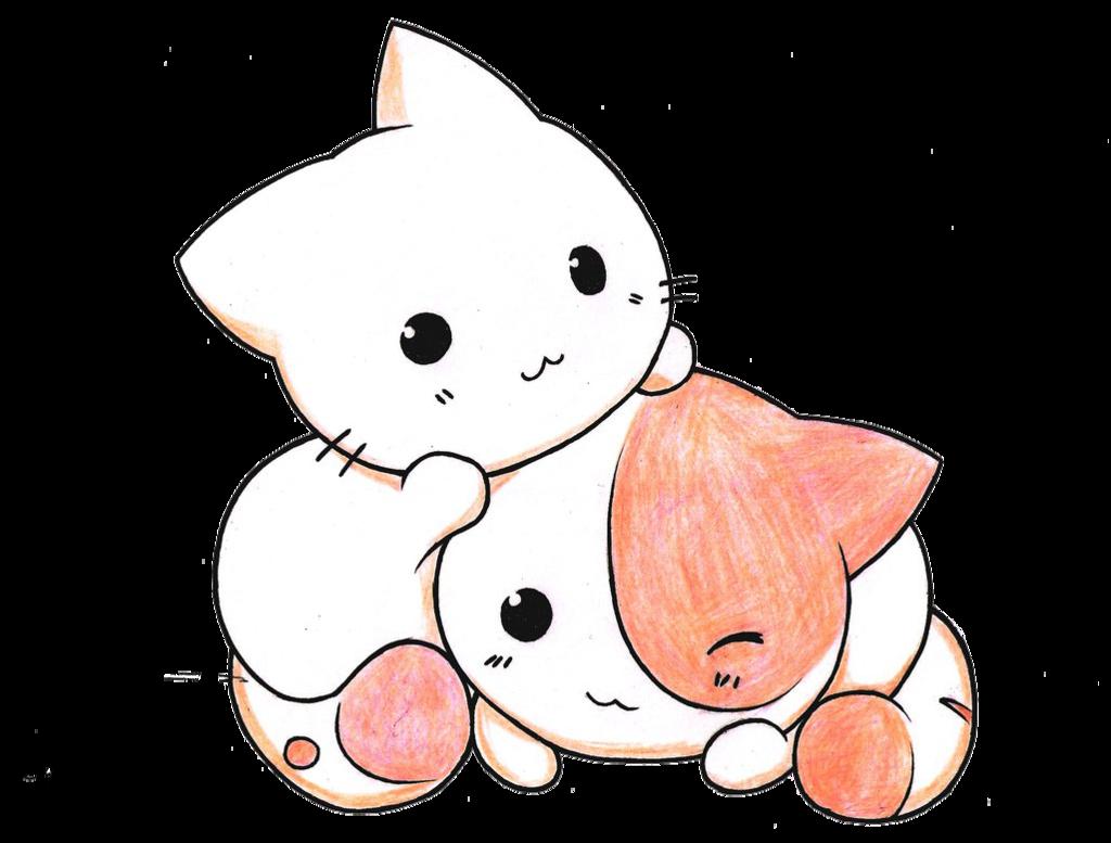 kitten clipart kawaii