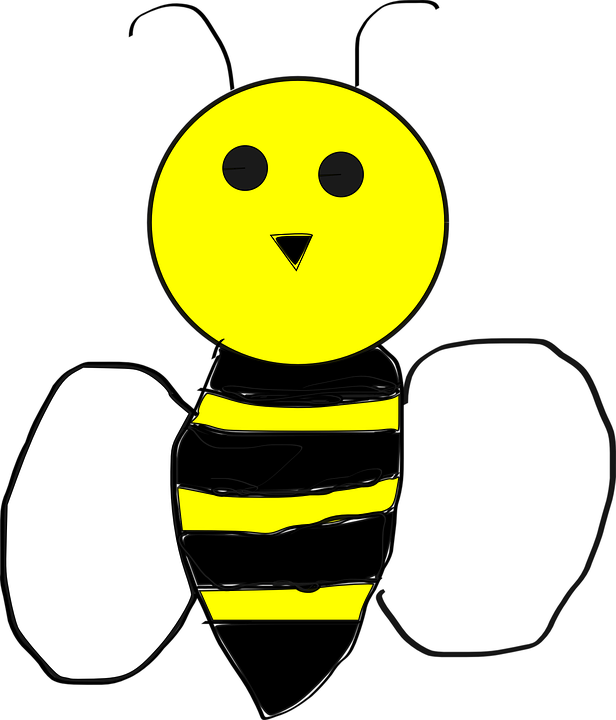 Kawaii clipart bee. Graphics group bumblebee free