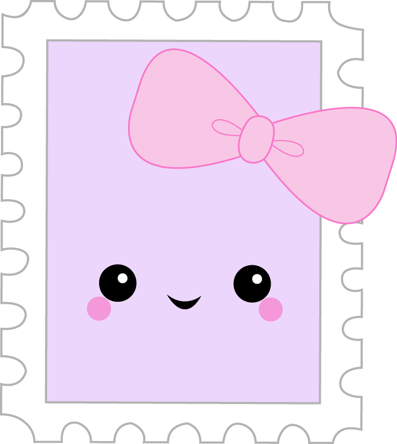 Busy bee parcel january. Planner clipart kawaii