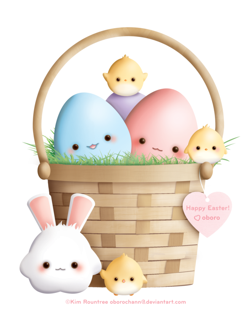 kawaii clipart bunny